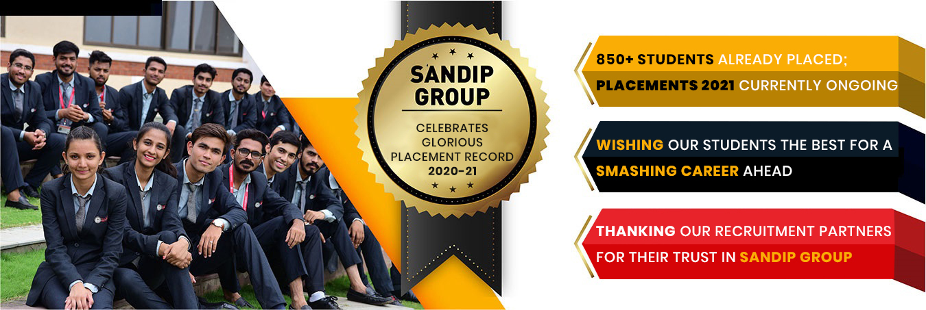 Sandip University Placements