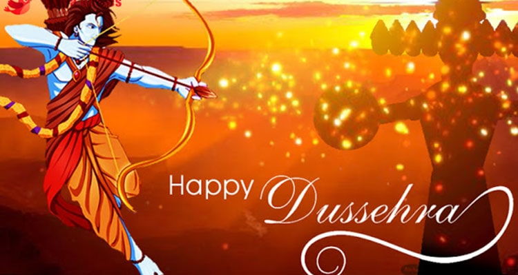 What Dusshera teaches the students?