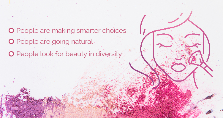3 Trends that are causing a Stir in the Cosmetic Industry